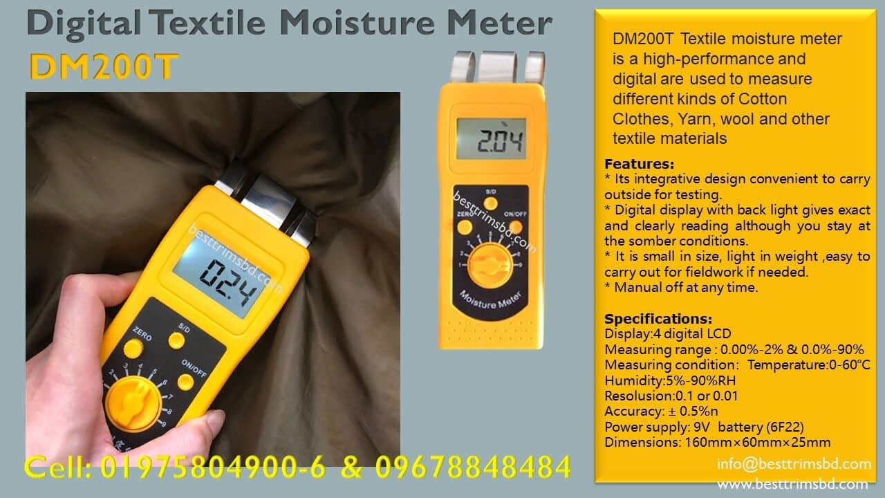DM200T Digital Moisture Meter